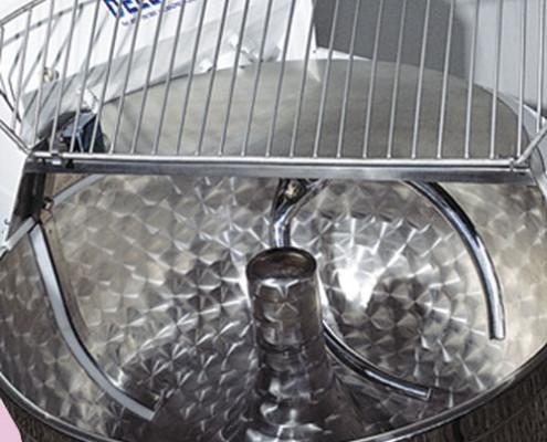 basculeur avec dechargement sur table